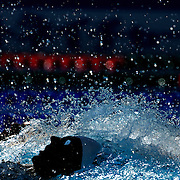 Ryan Lochte, USA, in action during the Men's 400m IM heats at the World Swimming Championships in Rome on Sunday, August 02, 2009. Photo Tim Clayton.