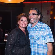 ESP/Ibiza/20130707 - Opening club Eden Ibiza, Richarda van Kasbergen en goede vriend