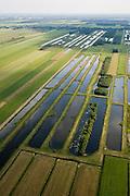 Nederland, Noord-Holland, Westbroek, 17-06-2008; Westbroekse Zodden; polderlandschap, ontstaan door vervening (weggraven van veen); Staatsbosbeheer heeft landbouwgrond aangekocht en oude 'petgaten' weer uitgegraven om zo 'nieuwe natuur' te creeren; ..luchtfoto (toeslag); aerial photo (additional fee required); .foto Siebe Swart / photo Siebe Swart.