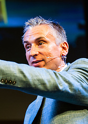 © Licensed to London News Pictures. 28/05/2014.Alan Smith featured -  Footballer Legends Geoff Hurst, Osvaldo Ardiles, Ricardo Villa and Alan Smith appear at The Hay Festival of Literature and Arts which celebrates its 27th year in Wales. Photo credit : Graham M. Lawrence/LNP