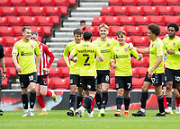 Football - 2020 / 2021 Sky Bet League One - Sunderland vs Northampton Town - Stadium of Light<br /> <br /> Sam Hoskins of Northampton Town (not pictured) scores to make it 1-0<br /> <br /> Credit : COLORSPORT/BRUCE WHITE