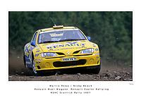 Martin Rowe / Nicky Beech<br /> Renault Dealer Rallying<br /> Renault Maxi Megane