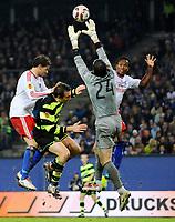 v.l. Marcus Berg HSV, Lee Naylor, Torwart Lukasz Zaluska , Ze Roberto<br /> Europa League Hamburger SV - Celtic Glasgow<br /> <br /> Norway