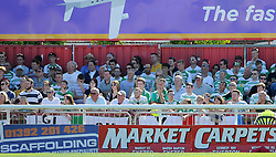 General Yeovil Town fans image - Photo mandatory by-line: Harry Trump/JMP - Mobile: 07966 386802 - 08/08/15 - SPORT - FOOTBALL - Sky Bet League Two - Exeter City v Yeovil Town - St James Park, Exeter, England.