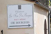 Chateau La Fon du Berger, Haut Medoc, Cru Bourgeois. Medoc, Bordeaux, France