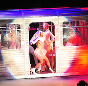 Multi Grammy winner Lady Gaga performs SAturday April 9 ,2011m at the Arena in New Orleans, Louisana as part of the Lady  Gaga Verizon Monster Ball Tour. She told all her fans to be free,express themselves and donate to her favorite charity for Homeless gay and lesbian kids.Photo©Suzi Altman