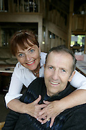 11th September 2008, Wasilla, Alaska. The US Republican Vice Presidential pick Sarah Palin's lifelong friends Curt and Linda Menard. PHOTO © JOHN CHAPPLE / REBEL IMAGES.tel: +1-310-570-910