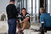 10th September, 2003. All Blacks media session. <br />Mark Hammett.<br />Pic: Andrew Cornaga/Photosport