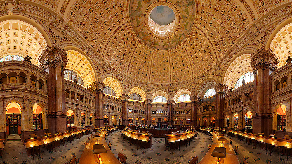Library of Congress in Washington DC