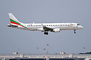 LZ-BUR Bulgaria Air Embraer 190-195 at Malpensa (MXP / LIMC), Milan, Italy