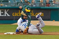 20120409 - Kansas City Royals at Oakland Athletics