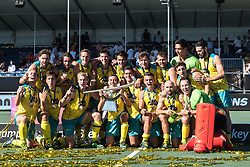 Australia wins the Champions Trophy during the Champions Trophy finale between the Australia and India on the fields of BH&BC Breda on Juli 1, 2018 in Breda, the Netherlands.