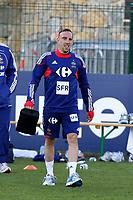 FOOTBALL - MISCS - WORLD CUP 2010 - TIGNES (FRANCE) - FRANCE TEAM TRAINING - 20/05/2010 - PHOTO ERIC BRETAGNON / DPPI - FRANCK RIBERY