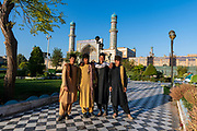 Young boys in the great Mosque of Herat, Afghanistan