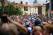 Peloton during the Tour de France 2018, Stage 1, Noirmoutier -en-l'île - Fontenay-le-Comte (201km) on July 7th, 2018 - Photo Kei Tsuji / BettiniPhoto / ProSportsImages / DPPI