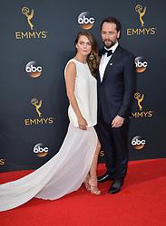 Keri Russell & Matthew Rhys bei der Verleihung der 68. Primetime Emmy Awards in Los Angeles / 180916<br /> <br /> *** 68th Primetime Emmy Awards in Los Angeles, California on September 18th, 2016***