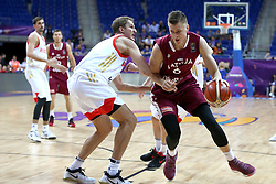September 5, 2017 - °Stanbul, Türkiye - Latvia vs. Russia Eurobasket 2017 game at Ulker Sports Areba, September 5th, 2017. (Credit Image: © Depo Photos via ZUMA Wire)