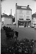 02.09.1986 <br /> 09.02.1986 <br /> 2nd September 1986 <br /> Pictures of a series of scenic shots taken in the Cork / Kerry region of Ireland. A view of The John Collins emporium (shoe shop) in Kinsale Co Cork.