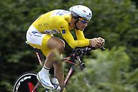 Sykkel<br /> Tour de France 2006<br /> Foto: Dppi/Digitalsport<br /> NORWAY ONLY<br /> <br /> CYCLING - UCI PRO TOUR - TOUR DE FRANCE 2006 - 08/07/2006<br />                           <br /> STAGE 7 - TIME TRIAL - SAINT-GREGOIRE>RENNES - TOM BOONEN (BEL) / QUICK STEP / LEADER