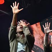 Jesus Christ Superstar perfroms at West End Live 2019 in Trafalgar Square, on 22 June 2019, London, UK.