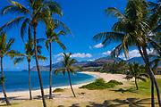 Maili Beach Park, Waianae, Leeward, Oahu, Hawaii