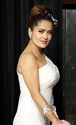 Salma Hayek at the 92nd Academy Awards - Press Room held at the Dolby Theatre in Hollywood, USA on February 9, 2020.