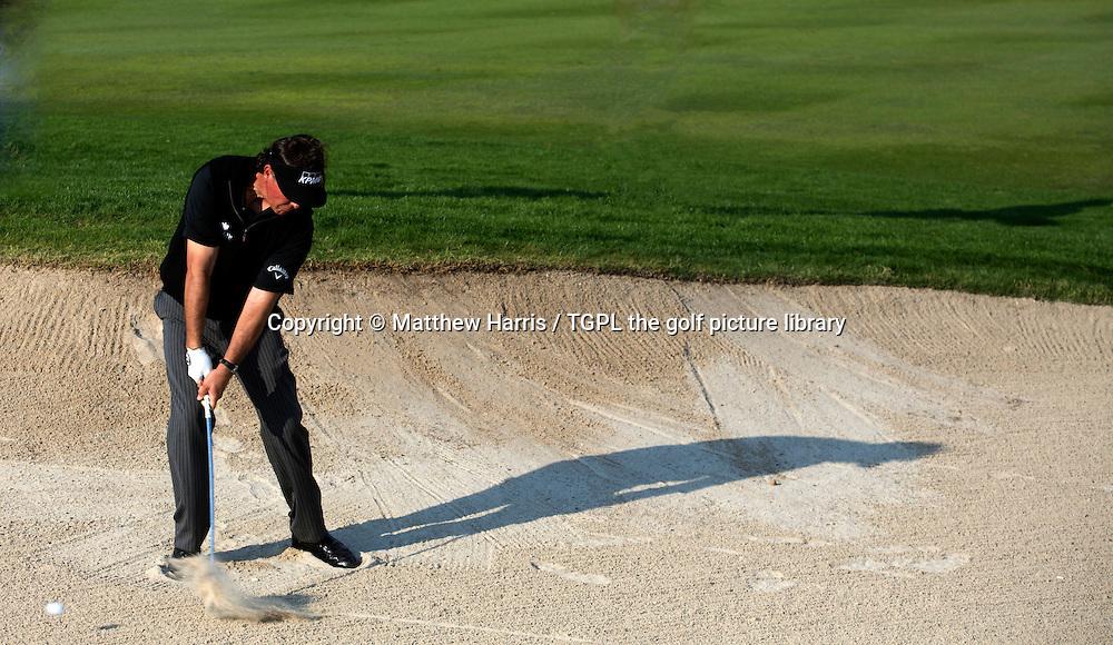 Phil MICKLESON (USA) during second round HSBC Abu Dhabi Championship 2014,Abu Dhabi Golf Club,Abu Dhabi,UAE.