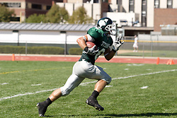 15 September 2007:  Robert Beauchamp starts his runback after a kick. The Titans stood toe to toe with the 25th ranked Lions through the first half but ended the game on the losing end of a 25-15 score at Wilder Field on the campus of Illinois Wesleyan University in Bloomington Illinois.