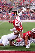Wisconsin running back Jonathan Taylor (23) scores a touchdown against Central Michigan. (AP Photo/Andy Manis)