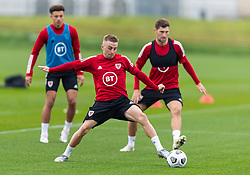 CARDIFF, WALES - Monday, October 5, 2020: Wales' Joseff Morrell during a training session at the Vale Resort ahead of the International Friendly match against England. (Pic by David Rawcliffe/Propaganda)