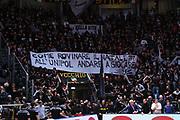 Segafredo Virtus Bologna tifosi<br /> Segafredo Virtus Bologna - Fiat Auxilium Torino<br /> Legabasket Serie A 2018/2019<br /> Bologna, 18/11/2018<br /> Foto M.Ceretti / Ciamillo-Castoria