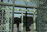 Iran. Tehran, entrance of the big mosque