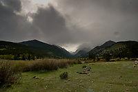 Spring storm clouds. Rocky Mountain National Park. Image taken with a Nikon D2xs camera and 14 mm f/2.8 lens (ISO 100, 14 mm, f/11, 1/160 sec).