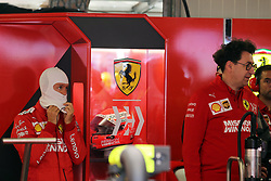 May 25, 2019 - Monte Carlo, Monaco - xa9; Photo4 / LaPresse.25/05/2019 Monte Carlo, Monaco.Sport .Grand Prix Formula One Monaco 2019.In the pic: Sebastian Vettel (GER) Scuderia Ferrari SF90 and Mattia Binotto (ITA) Scuderia Ferrari Team Principal (Credit Image: © Photo4/Lapresse via ZUMA Press)