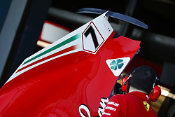 March 23, 2018 - Melbourne, Victoria, Australia - Numbers on the engine cover during 2018 Formula 1 championship at Melbourne, Australian Grand Prix, from March 22 To 25 - Photo  Motorsports: FIA Formula One World Championship 2018, Melbourne, Victoria : Motorsports: Formula 1 2018 Rolex  Australian Grand Prix, (Credit Image: © Hoch Zwei via ZUMA Wire)