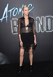 """Atomic Blonde"" American Premiere held at the Ace Theatre Downtown Los Angeles. 24 Jul 2017 Pictured: Charlize Theron. Photo credit: OConnor / AFF-USA.com / MEGA TheMegaAgency.com +1 888 505 6342"