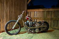 Invited builder Brock Bridges' custom Harley in the BC Moto Show at the Tennessee Motorcycles and Music Revival at Loretta Lynn's Ranch. Hurricane Mills, TN, USA. Saturday, May 22, 2021. Photography ©2021 Michael Lichter.