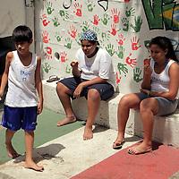 South America, Brazil. Rio de Janiero. Kids at Para Ti school in Favela of Vila Canoas.