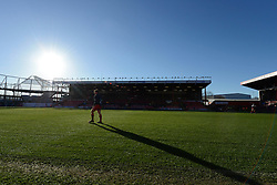 Bristol Rugby at Ashton Gate - Photo mandatory by-line: Dougie Allward/JMP - Mobile: 07966 386802 - 18/01/2015 - SPORT - Rugby - Bristol - Ashton Gate - Bristol Rugby v Yorkshire Carnegie - Green King IPE Championship