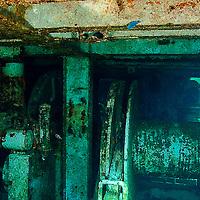 Aft Below Boat Deck, USS Kittiwake, Grand Cayman