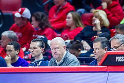 NORMAL, IL - November 29: Steve Adams during a college basketball game between the ISU Redbirds and the Prairie Stars of University of Illinois Springfield (UIS) on November 29 2019 at Redbird Arena in Normal, IL. (Photo by Alan Look)