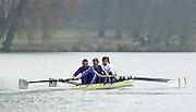 Henley. England, GB Rowing crews training on Henley Reach.<br /> Photo Peter Spurrier.<br /> 11/03/2004 - British International Rowing - Training stroke [left] Matt Pinsent, James Cracknell, Josh West and Stephen Williams..   [Mandatory Credit. Peter SPURRIER/Intersport Images]
