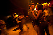 Ceci and Meme at a gay Milonga in Buenos Aires.