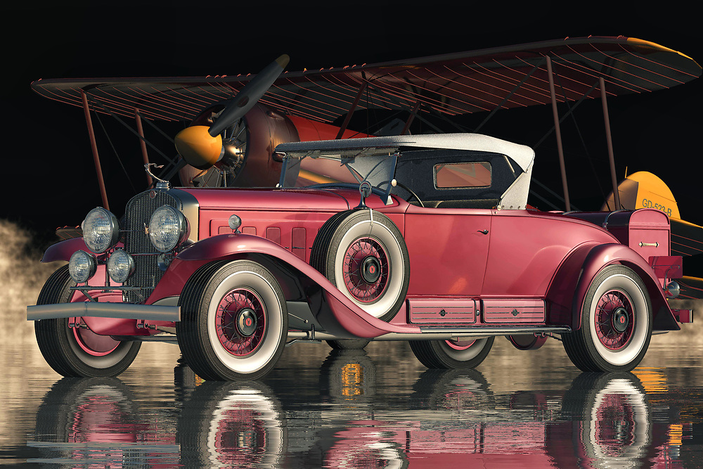 The Cadillac V16 Roadster from 1930 is one of the most beautiful and unique vehicles that Cadillac has ever produced. The Cadillac V16 Roadster is Cadillac V16 Roadster was so advanced that they are not like any other cars manufactured by Cadillac. The Cadillac V16 Roadster car had all the technological advancements that you can ever dream of. All these technological advancements were present in the new Cadillac V16 Roadster from 1930 an American sports car.<br /> <br /> The interior of the new model Roadster from 1930 an American sports car is simply breathtaking. It has a very high quality and fine leather upholstery. There are even wood Dashboards that are available. This is one automobile that will truly make your grand tour of America truly memorable. It has a soft music box, radio, t.v., w/ cigarette lighter, glove box, boot, sun roof, and rear view mirror.<br /> <br /> The Cadillac V 16 Roadster from 1930  came with a two-door hardtop that opens up to give a larger space for luggage. It also has front and rear curtain panels that can be adjusted to allow air flow. This automobile is equipped with all the latest technology and is so advanced that it does not even need a driver's seat. It is so safe that a child can sit in the driver's seat and drive this car. This is one automobile that is just way too exciting to pass up.
