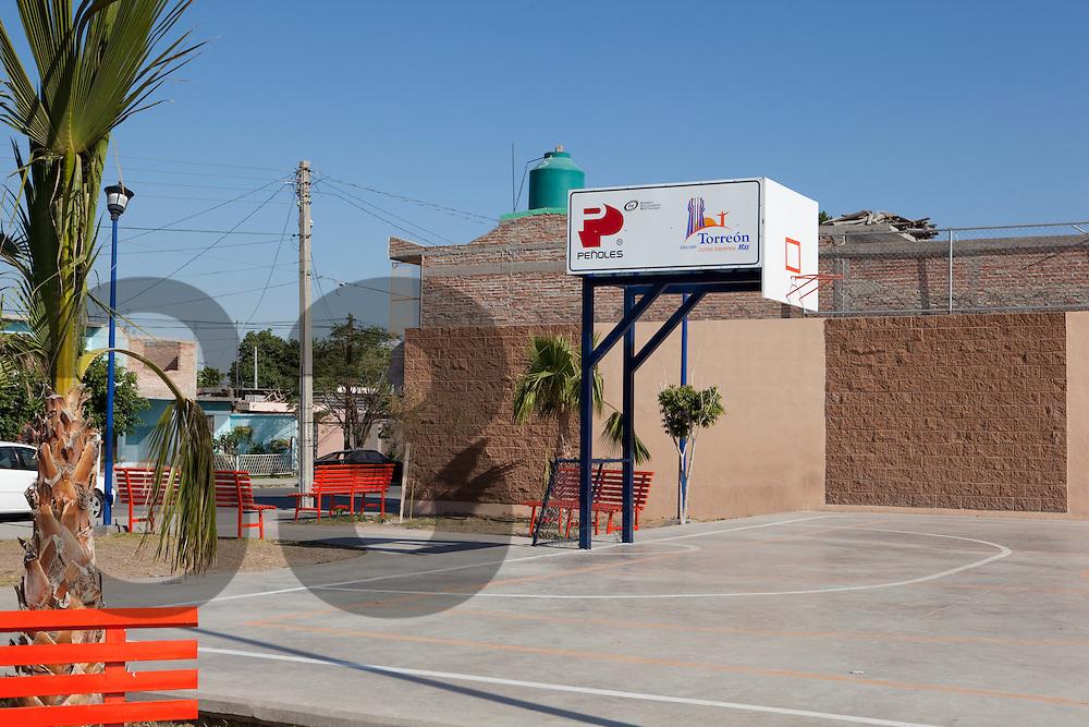 Torreon, Coahuila, Mexico. Actividades de desarrollo social en Torreon por parte de Peñoles