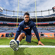 XXXXX during the NFL regular season game against the Oakland Raiders and the Denver Broncos on Sunday, Dec. 13, 2015 in Denver. (Ric Tapia/NFL)