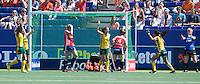 THE HAGUE - South Africa (RSA) vs England. Goal for RSA.  COPYRIGHT KOEN SUYK