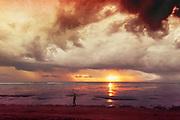 Sunrise Sanur Beach, Bali, Indonesia