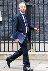London, October 17 2017. Lord Chancellor and Secretary of State for Justice David Lidington leaves the UK cabinet meeting at Downing Street. © Paul Davey