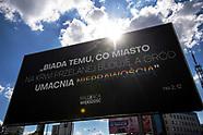 Homofobiczne plakaty na ulicach Białegostoku